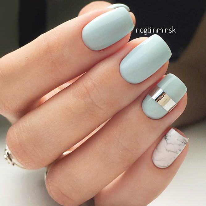 Outstanding Classy Nails Ideas For Your Ravishing Look Blue