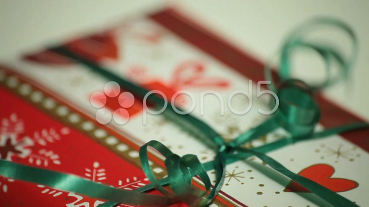 decorative christmas gift wrapping - Stock Footage | by ionescu