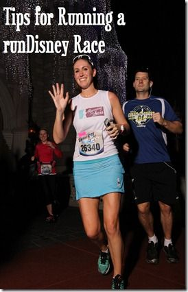 Tips for Running a runDisney Race.  A runDisney race is on my bucket list!  I WILL do this one day