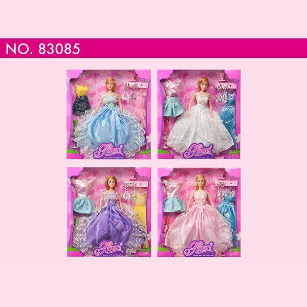 Kids cheap baby dolls wholesale Beautiful Princess party Dress up doll