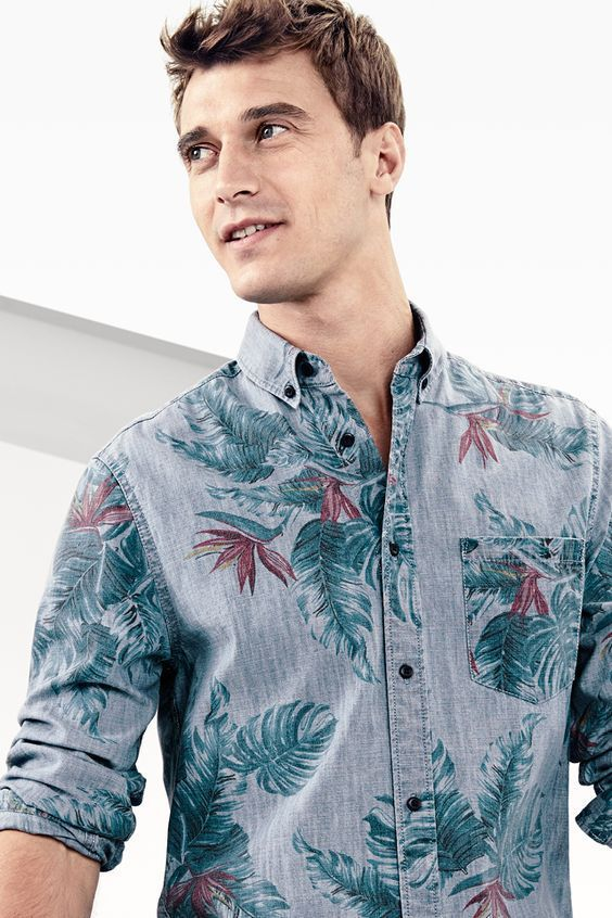 Are you geared up for the summer heat yet? Let us get you all prepped in for the top 4 casual shirts trends this summer!