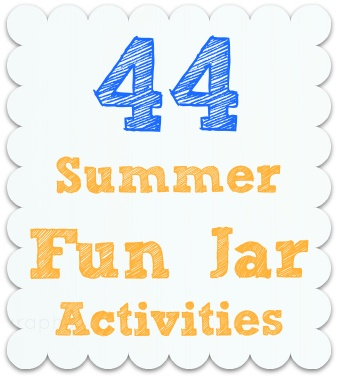 Craft, Interrupted~~44 Summer Fun Jar Activities! This is my friend's blog, and