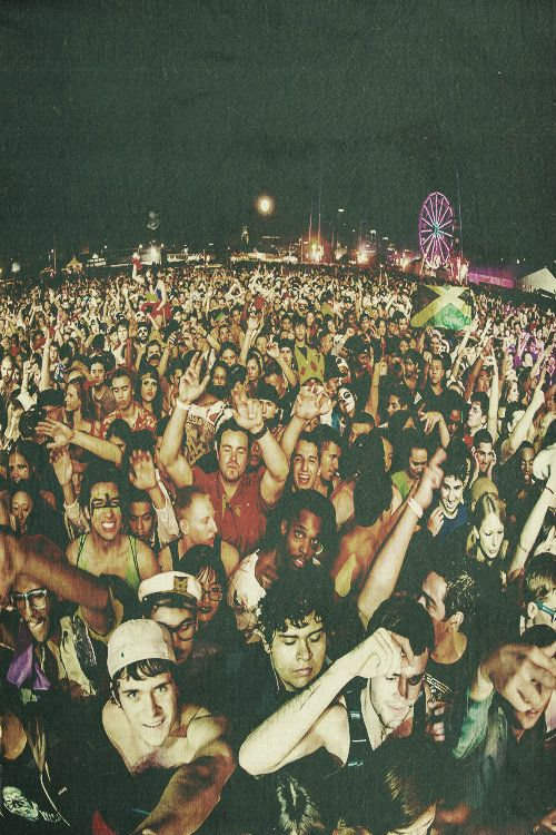 I love this picture because it shows all people of all races together, being friends and having fun. Music unites people.
