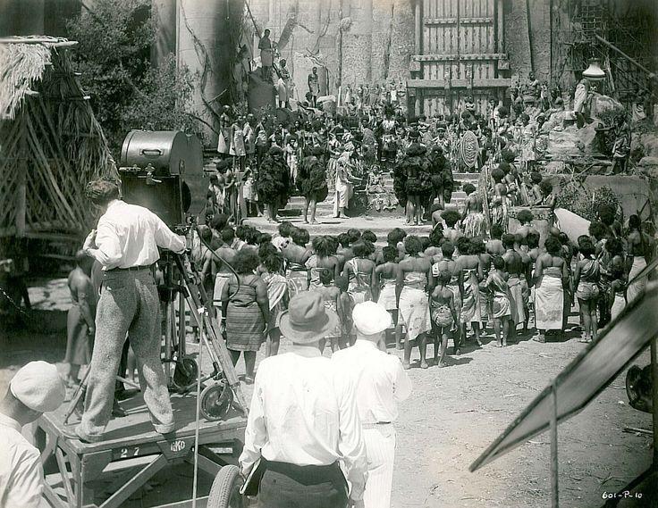 Filming King Kong 1933