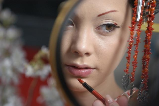 geisha from the movie Sakuran