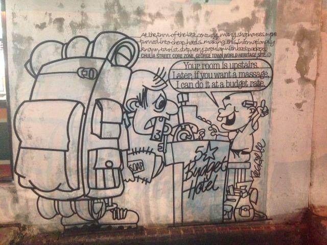 Street art in Georgetown, Malaysia