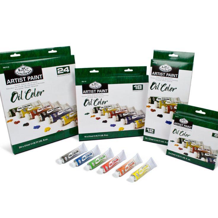 Choix de sets de tubes à l'huile de 21 ML Royal & Langnickel