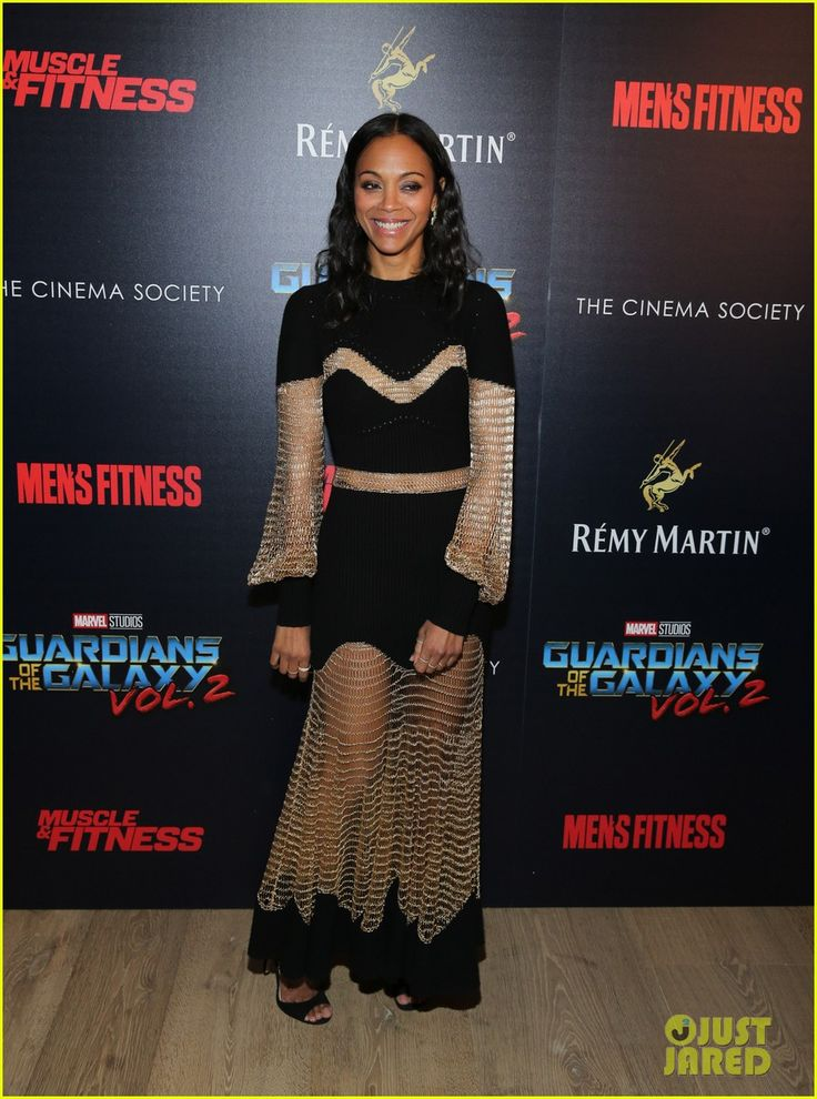 Zoe Saldana Had to Face Her Fear of Heights For 'Guardians 2'