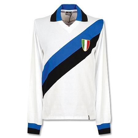 Camiseta Retro del Inter de Milan 1960 Visitante - Manga Larga