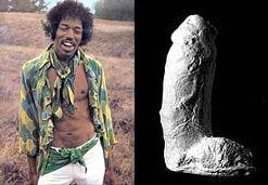 Plaster Cast Of Jimi Hendrix Cock 24