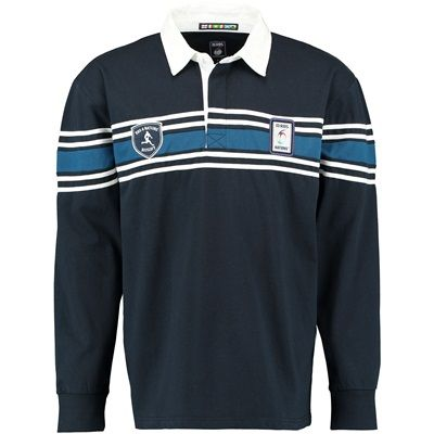 n/a RBS Six Nations Classic Long Sleeved Rugby Shirt RBS Six Nations Classic Long Sleeved Rugby Shirt - Navy/WhiteA great addition to your RBS Six Nations wardrobe,  this classic fleece is made from 100% cotton so is soft and comfortable.  100% Cotton r http://www.MightGet.com/february-2017-2/n-a-rbs-six-nations-classic-long-sleeved-rugby-shirt.asp