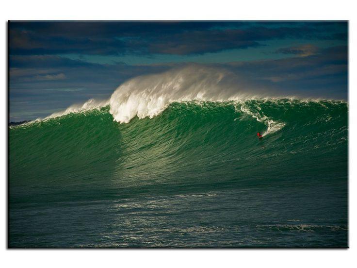 Surf sur Belharra vague géante du Pays Basque le 22/12/2013 dans la catégorie Stéphane Salerno