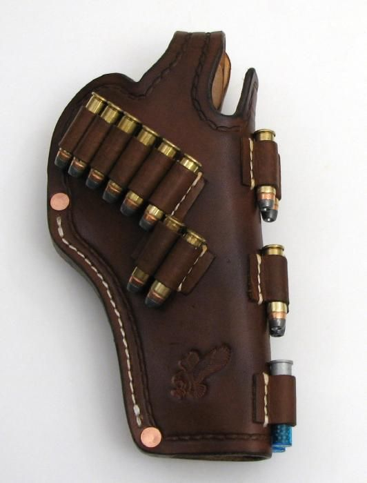 backup!..Nice,holster and user -friendly!  I STILL CARRY SPEEDLOADERS! But,Holister would look good with a gun with wood grips!