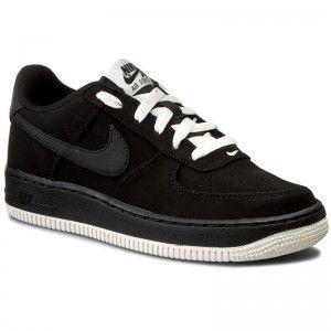 Pantofi NIKE - Air Force 1 (GS) 596728 027 Black/Black/Sail