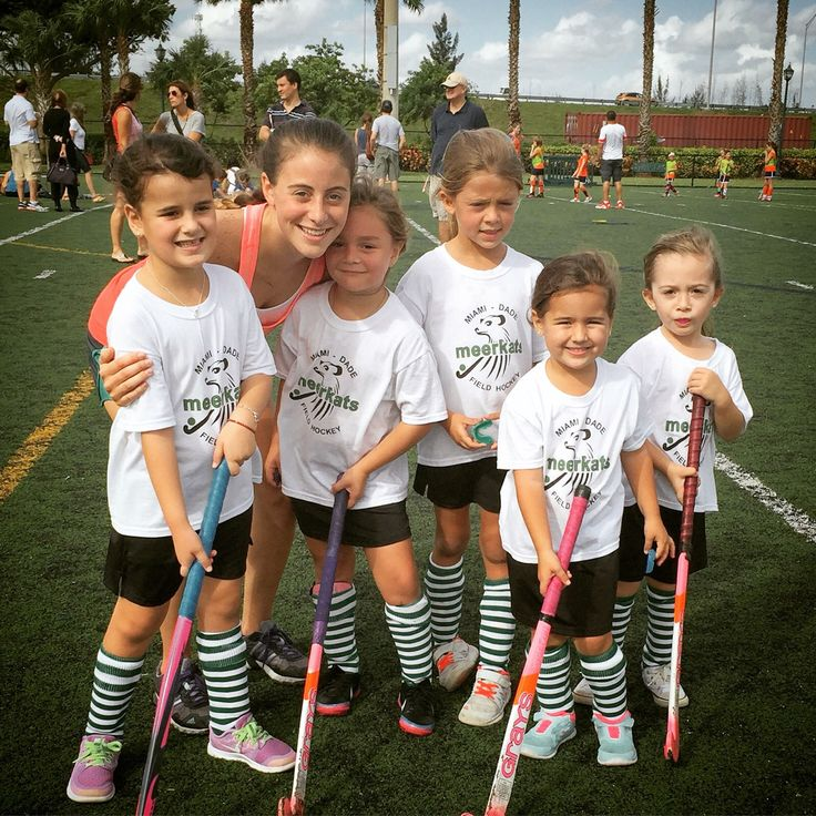 """What you lack in talent can be made up with desire, hustle, and giving 110 percent all the time.""- Don Zimmer #FUNFriday #GrowTheGame  Meerkats Field Hockey Club in Miami, Fla."