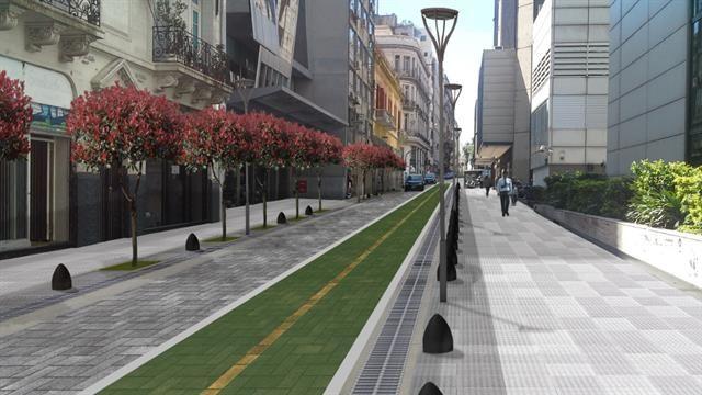 Cambiarán 21 cuadras para que haya más espacio para caminar y disfrutar, como se hizo en el microcentro.  #BibliotecaCPAU #DSI #Urbanismo #LaNacion #Microcentro #BuenosAires #CABA