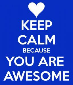 Keep calm...:)