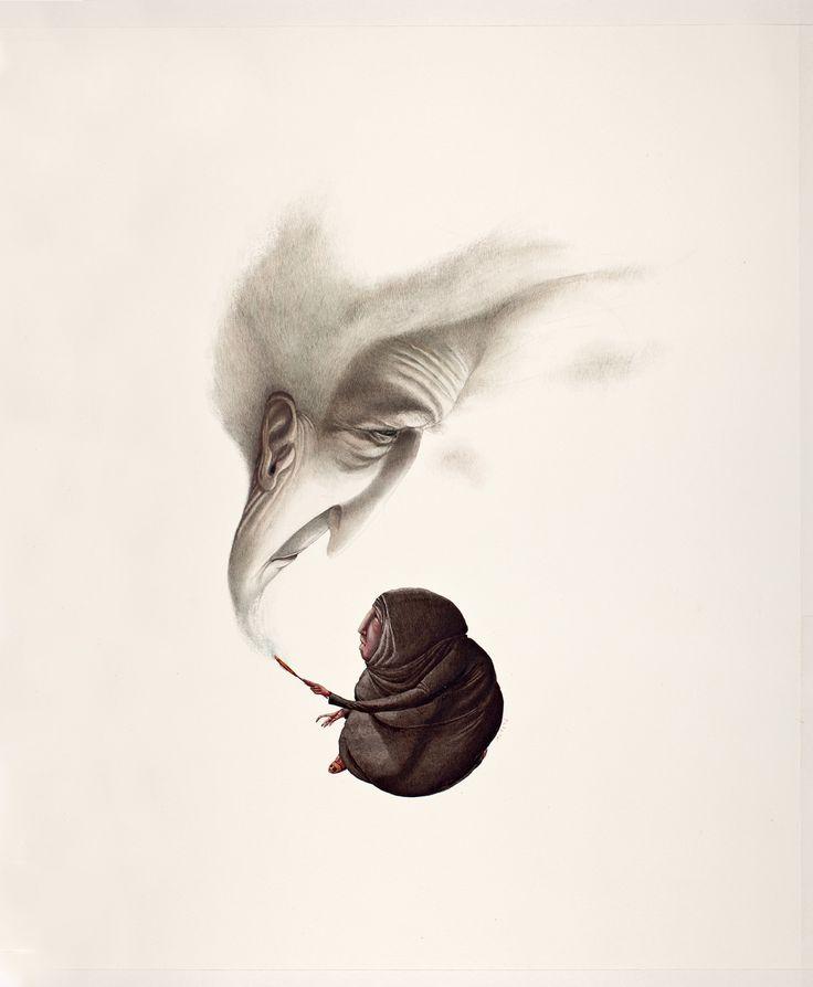 Rebecca Dautremer - Illustration - Une Bible - Endor