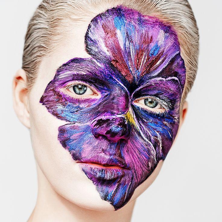 бьюти beauty creative makeup визаж цветок визажист творчество креатив