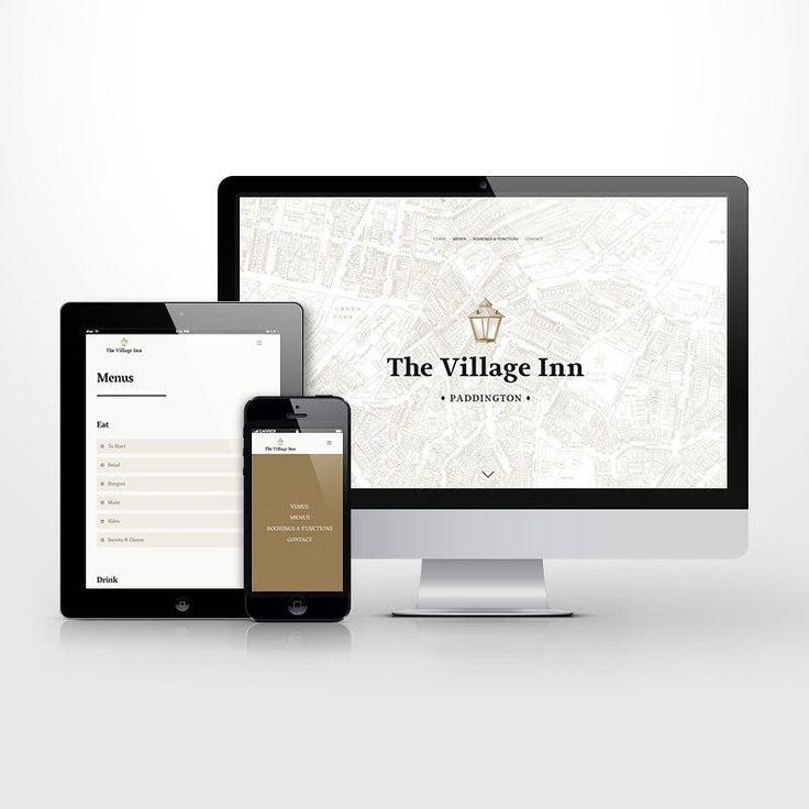 One page responsive wordpress website for The Village Inn. #wordpress #ui #ux #uidesign #uxdesign #web #webdesign