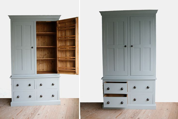 handmade solid wood larder unit freestanding kitchen. Black Bedroom Furniture Sets. Home Design Ideas
