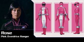 101. Rose Ortiz--Rose Ortiz was the Pink Ranger from Operation Overdrive. Operation Overdrive is not exactly the most heart-warming season to Power Ranger fans. Rose is thought to be a very smart lady and that's pretty much all we know about her.
