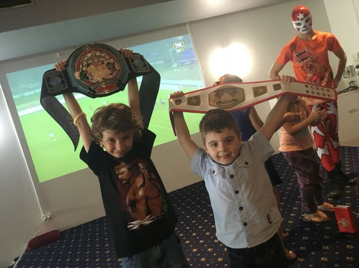 Happy 5th Birthday Sebastian! We hope you and your superstar friends had a SLAMMING Super Wrestling Heroes birthday party today. Thanks for letting us be a part of your special day.  To have The Super Wrestling Heroes be a part of your son or daughters next party or special occasion visit www.superwrestlingheroes.com.au  ARE YOU READY TO PARTY?! #superwrestlingheroes #birthdayparty #turning5 #hiphip #illawarra #champions
