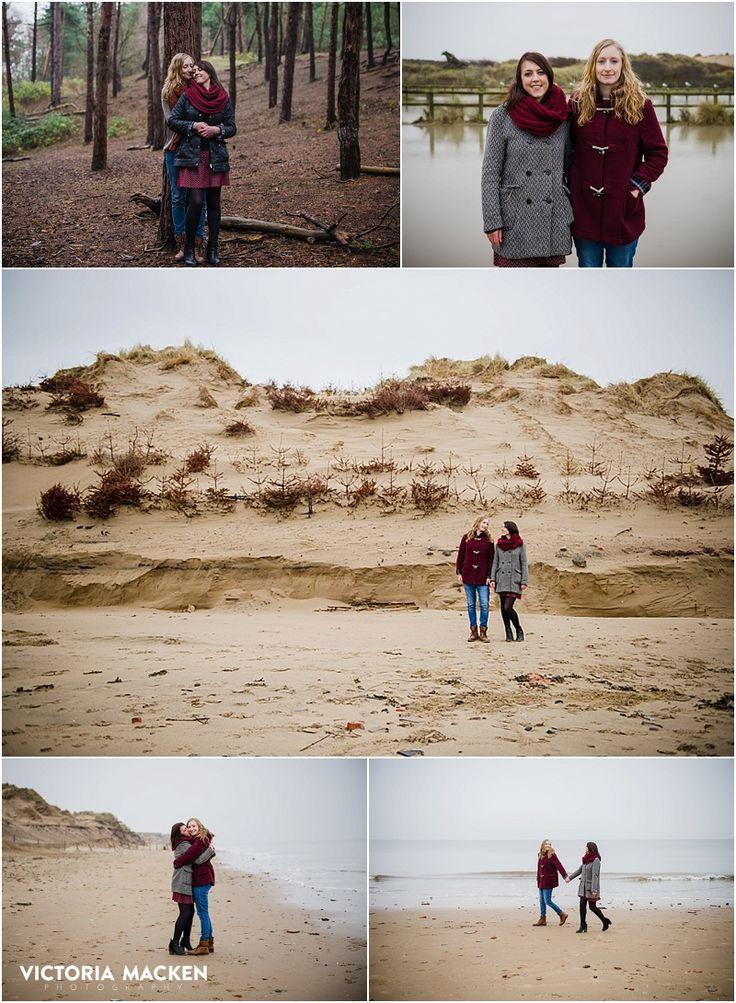 prewedding in Formby UK #prewedding #couples #engagement #Formby #naturallightphotographer