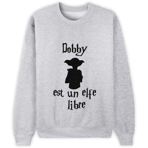 """""""Dobby est un elfe libre"""" [Harry Potter] // Bienvenue sur Keewi.io - Créez et vendez vos T-Shirts Gratuitement"""