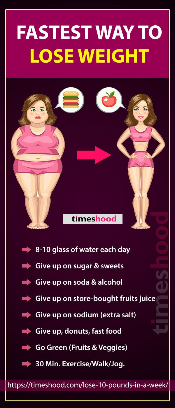 How To Lose Up To 10 Pounds In A Week Without Exercise 7 Easy
