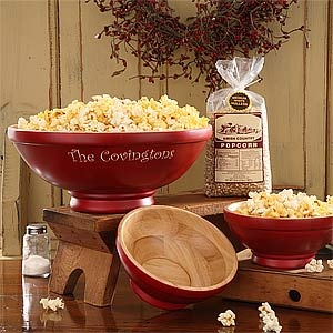 34 best gifts for the family images on pinterest craft childcare these old fashioned red popcorn bowls are beautiful this is a great hostess or family gift idea for christmas negle Image collections