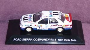 1/64 Japan CMs RALLY CAR COLLECTION SS16 FIGURE FORD SIERRA COSWORTH 4X4