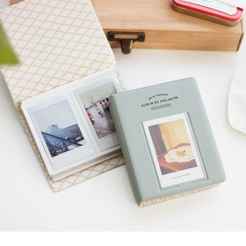 Iconic Instax mini polaroid slip in photo album ver.2 - fallindesign