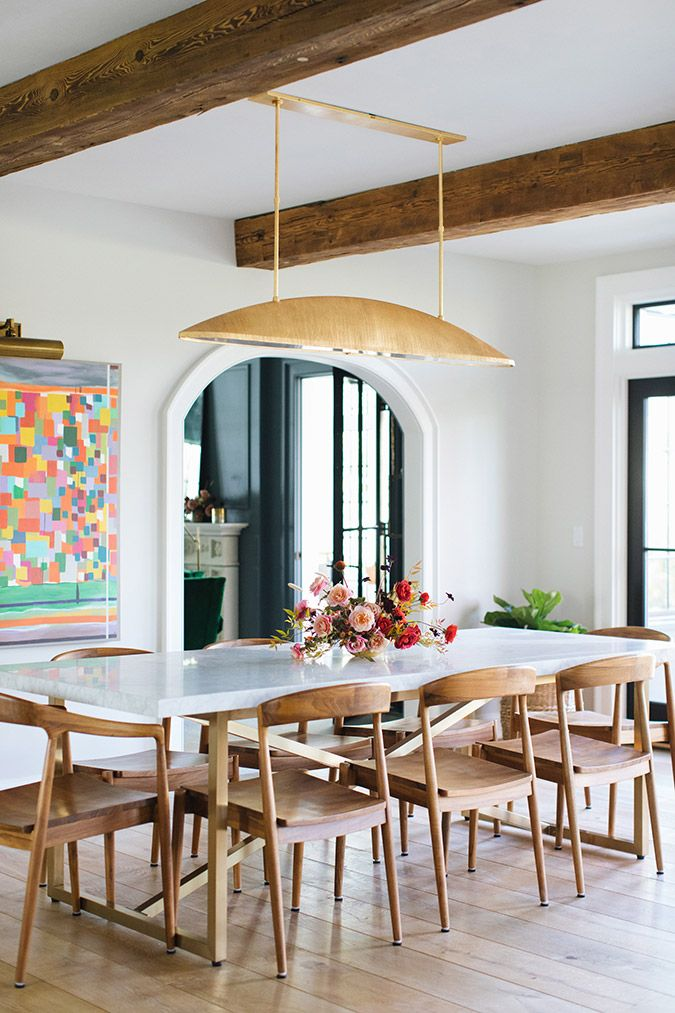 dining room by Jean Stoffer Design