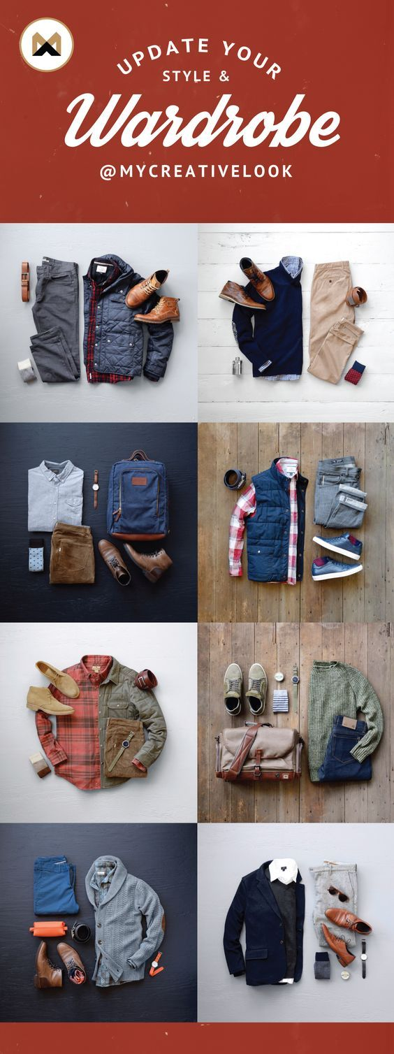 Update Your Style & Wardrobe by checking out Men's collections from MyCreativeLook | Casual Wear | Outfits | Fall Fashion | Boots, Sneakers and more. Visit mycreativelook.com/ #wardrobe #mensfashion #mensstyle