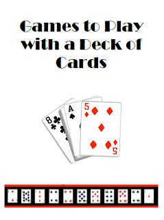 Math Coachs Corner: Math Games with a Deck of Cards.   A free booklet of easy math games that can be played with a standard deck of playing cards. #hotm #homeschool #math
