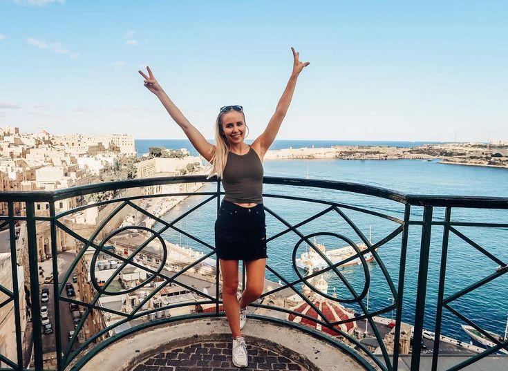 Malta är helt magiskt  Hur är vädret i Sverige? Vågar man komma hem #malta #valetta