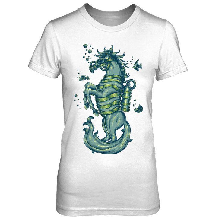 Seahorse - Ladies t-shirt
