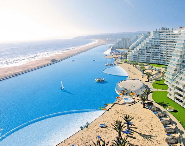 largest swimming pool in the world, San Alfanso Del Mar Chili