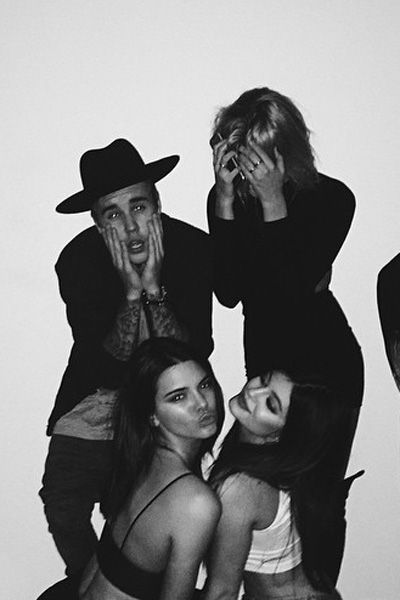 Kendall And Kylie Jenner And Justin Bieber Hailey Baldwin Birthday Party - Kendall Jenner Justin Bieber Hang Out