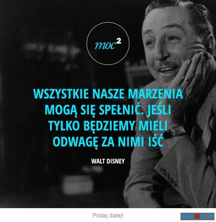 Marzenia - Walt Disney