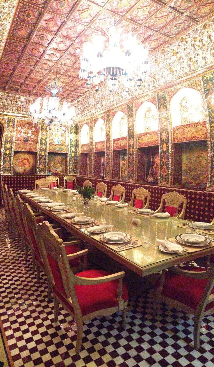 Persian Restaurant in Souq Waqif, Doha, Qatar. September 2013