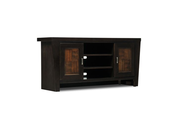 maddox 52 tv console living spaces possible tv console apartment decor ideas home decor. Black Bedroom Furniture Sets. Home Design Ideas
