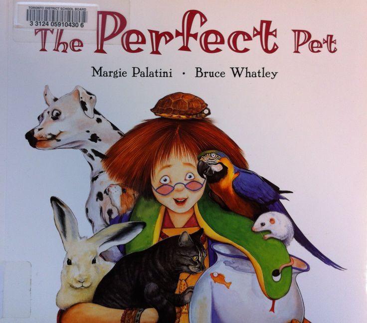 The Perfect Pet by Margie Palatini, illustrated by Bruce Whatley (E PAL)
