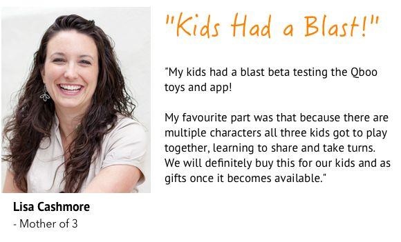 Check out Qboo! Smart Plush Toys.  http://igg.me/at/qboo  #Qboo #Kids #Toys #Kreyonic #Indiegogo
