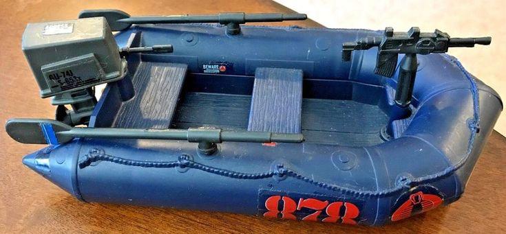 Vintage 1985 GI Joe Cobra Night Landing Boat - ARAH!!! #Hasbro