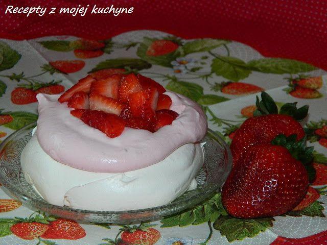 RECEPTY Z MOJEJ KUCHYNE - Mini tortičky Pavlova s jahodovým krémom