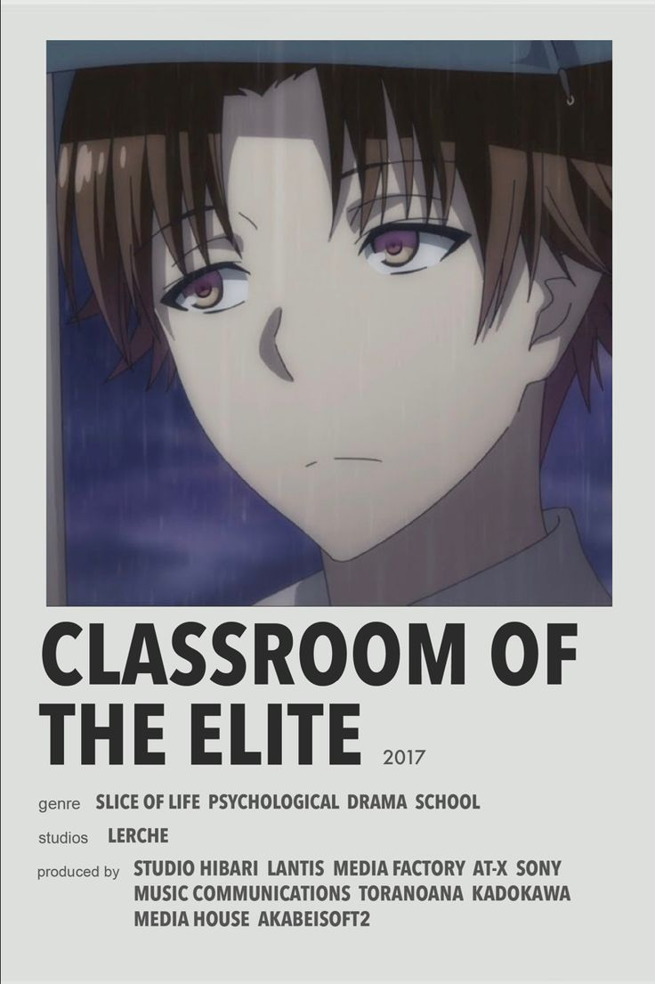 Moving to america in the 1980s, she modeled for chanel in new york. Classroom Of The Elite Anime Films Best Anime Shows Anime Printables