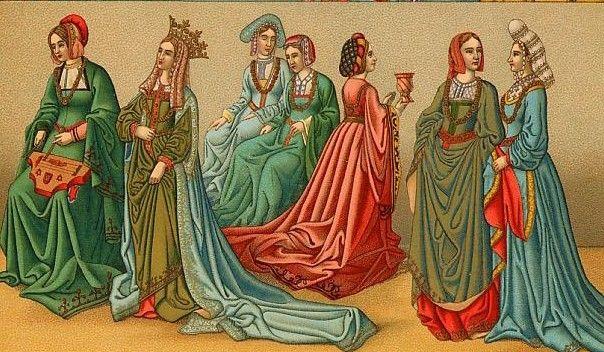 La mayoría de la ropa era hilada, cortada y cosida por las mujeres de la familia.
