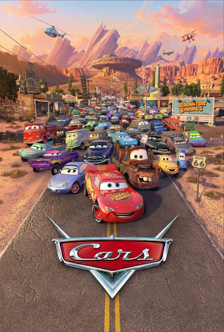Cars is not only my boy's favorite movie (because he loves automobile), but mine as well. It's probably one of the best Pixar movies ever made....so far.